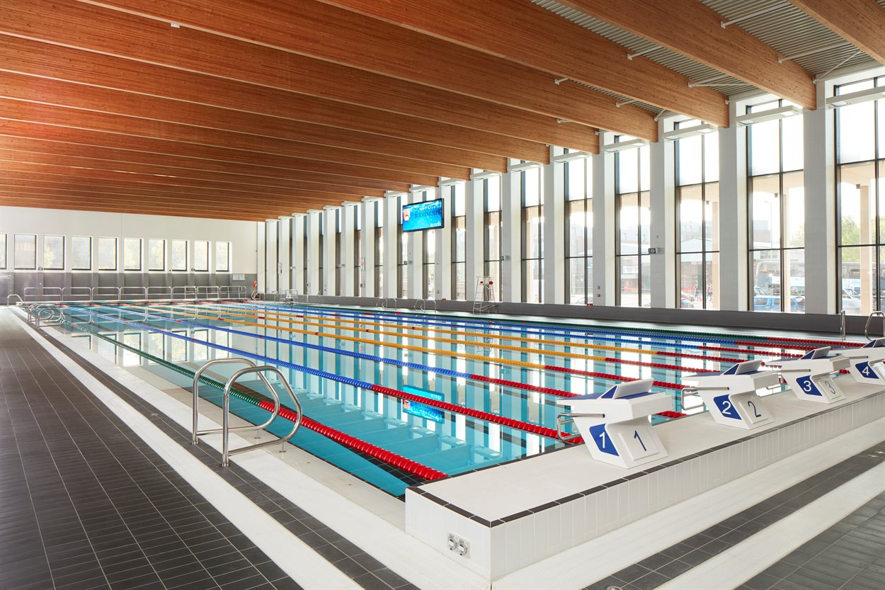 Indoor sport fitness centre university of birmingham rlf University of birmingham swimming pool